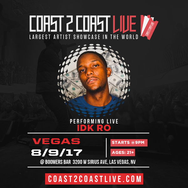 Idk Ro Idk Ro Royaltyie Performs At Coast 2 Coast Live Las